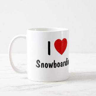 I LiebeSnowboarding Kaffeetasse