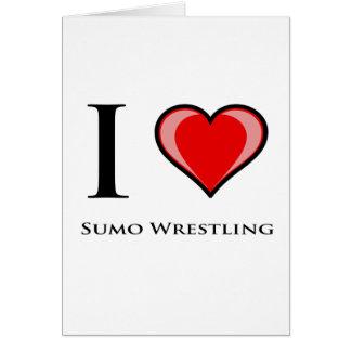 I Liebesumo-Wrestling Karte