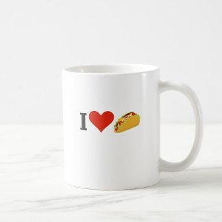 I LiebeTacos für Taco-Liebhaber Kaffeetasse