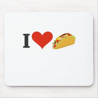 I LiebeTacos für Taco-Liebhaber Mousepad