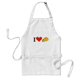 I LiebeTacos für Taco-Liebhaber Schürze