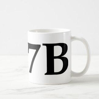 I love 7B lang Kaffeetasse