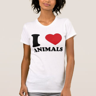 I LOVE ANIMALS 3D T-Shirt