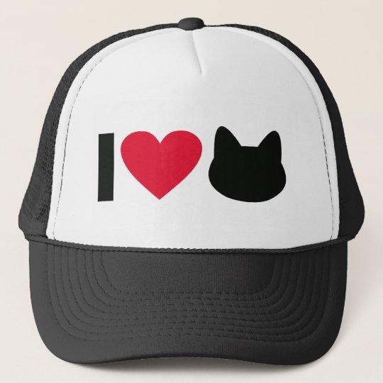 I love cats truckerkappe