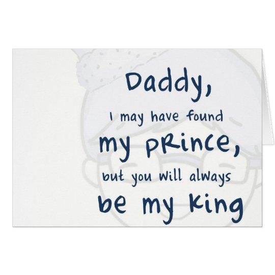I love dad karte