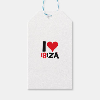 I love Ibiza 18IZA Spezielle Ausgabe 2018 Geschenkanhänger