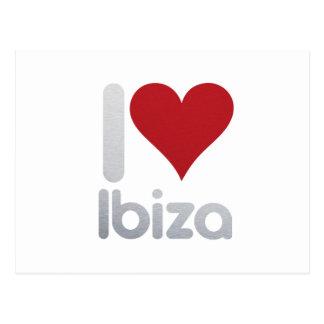 I LOVE IBIZA POSTKARTE