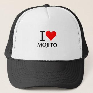 I Love Mojito 2 Truckerkappe