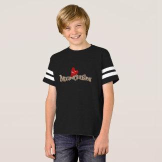 I Love München T-Shirt für Kinder in Schwarz