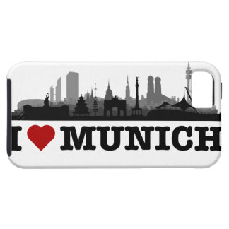 I Love Munich city of skyline - iPhone4 sleeve iPhone 5 Hülle