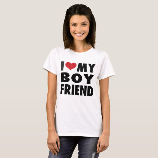 I LOVE MY gehe ich FRIEND T-Shirt