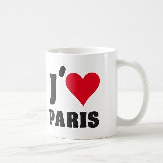 I Love Paris Heart France Edition Kaffeetasse