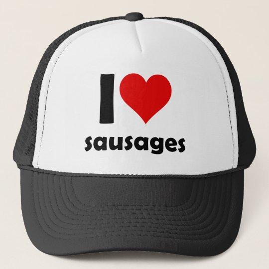I love sausages truckerkappe