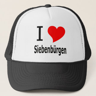 I love Siebenbürgen Truckerkappe