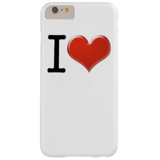 I Love Souvenirs Barely There iPhone 6 Plus Hülle