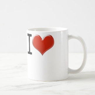 I Love Souvenirs Kaffeetasse