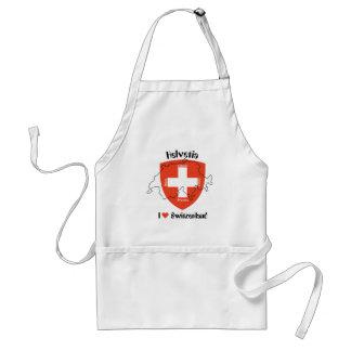 I love Switzerland Schürze