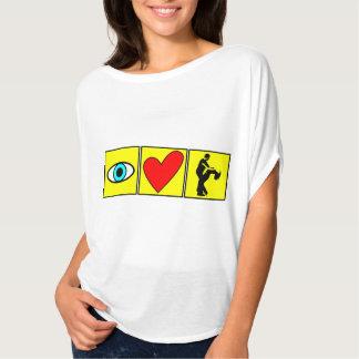 i love zouk / dance T-Shirt