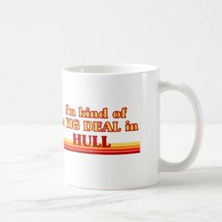 I´m Art einer großen Sache im Rumpf Kaffeetasse