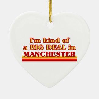 I´m Art einer großen Sache in Manchester Keramik Ornament