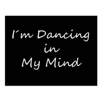 I´m, das in meinem Kopf tanzt Postkarte