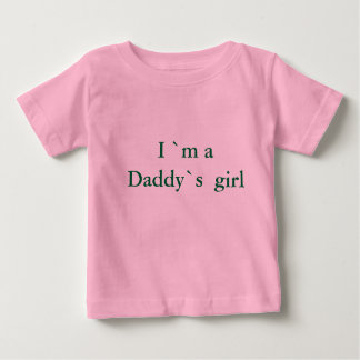 I ` m ein Vati ` s Mädchen Baby T-shirt