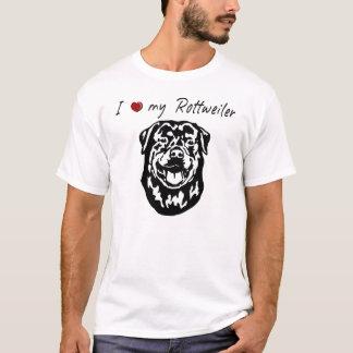 ❤ I meine Rottweiler Wörter u. reizende Grafik! T-Shirt