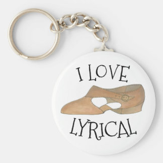 I moderner Tanz-Lehrer-Schuh Liebe-Lyrical TANs Schlüsselanhänger