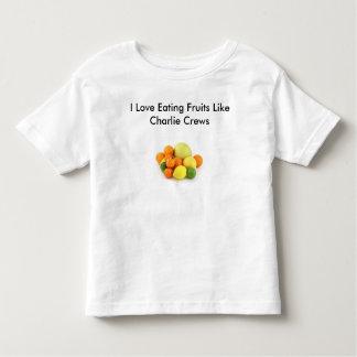 I mögen die Liebe, die Früchte isst, Charlie-Crews Shirt