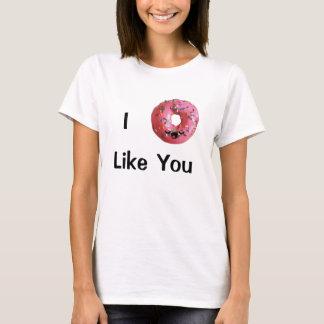 I mögen Krapfen Sie Shirt