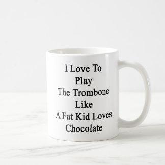 I mögen Liebe, den Trombone zu spielen Kaffeetasse