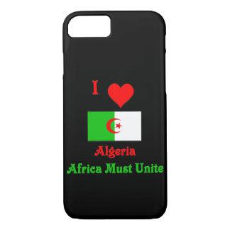 I muss Liebe Algerien, Afrika vereinigen iPhone 8/7 Hülle