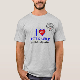 I noch Liebe-Peters Hafen in Redwood City 12746 T-Shirt