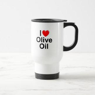 I Olivenöl der Liebe-(Herz) Reisebecher