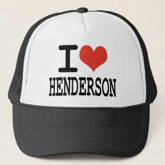 I ove Henderson Truckerkappe