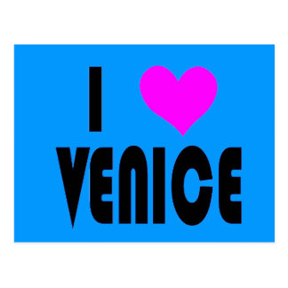 I Postkarte Liebe-Venedigs Italien