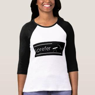 I prefer astronomy T-Shirt