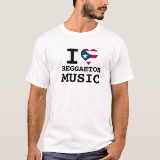 I puertorikanische Musik des Herz-REGGAETON T-Shirt