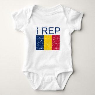 I Repräsentant Tschad Baby Strampler