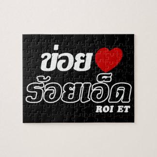 I ROI des Herz-(Liebe) und, Isan, Thailand Puzzle