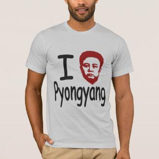I schließt Pyongyang auf T-Shirt