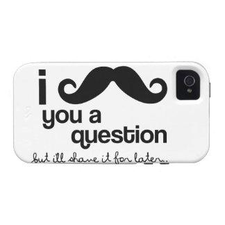 I Schnurrbart Sie eine Frage - Case-Mate Vibe iPhone 4 Hülle