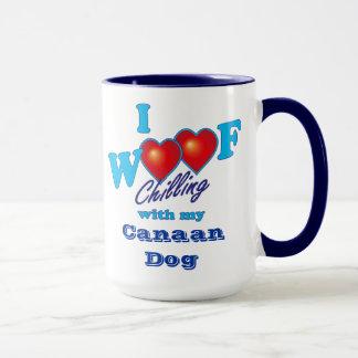 I Schuss Canaan Hund Tasse