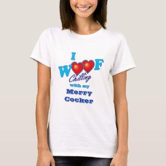 I Schuss-fröhlicher Cockerspaniel T-Shirt