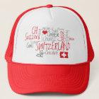 I Schweizer nationaler Tag der Liebe-Schweiz Truckerkappe