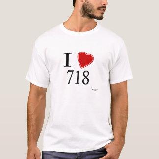 I Staten Island der Liebe-718 T-Shirt