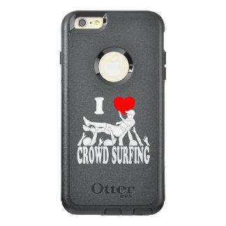 I surfende Liebe-Menge (Mann) (weiß) OtterBox iPhone 6/6s Plus Hülle
