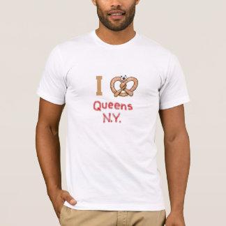 I T-Shirt der Liebe-Königin-NY