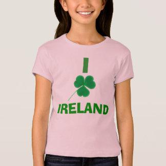 I Tag Liebe-Kleeblatt-Irlands | St Patrick T-Shirt