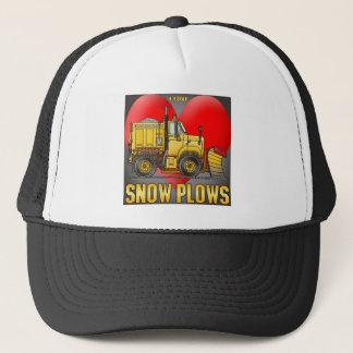 I tauscht Liebe-Schnee-Pflug Hut Truckerkappe